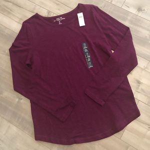 Long Sleeve Gap T-shirt